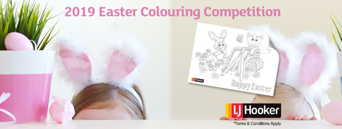 2019 Easter Colouring Competition
